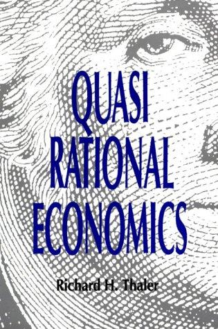 Download Quasi Rational Economics