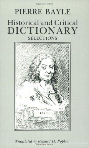 Historical and critical dictionary