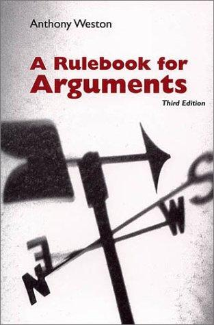 Download A rulebook for arguments