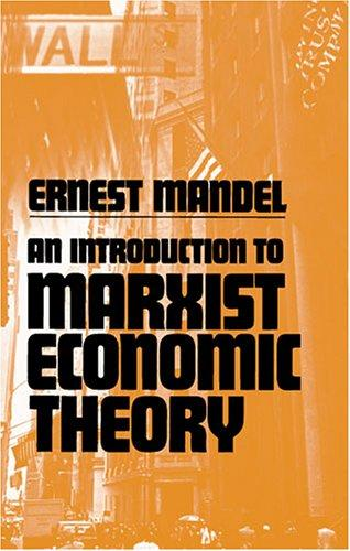 Download An Introduction to Marxist Economic Theory