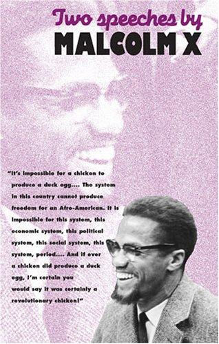 Download Two speeches by Malcolm X.