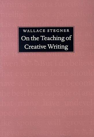 Download On the Teaching of Creative Writing
