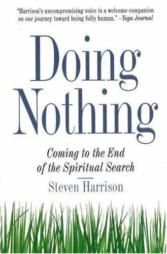 Download Doing nothing