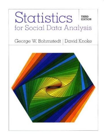 Download Statistics for social data analysis