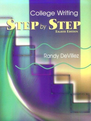 Download Step by Step College Writing