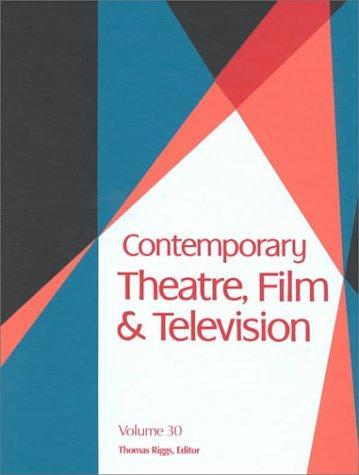 Download Contemporary Theatre, Film & Television