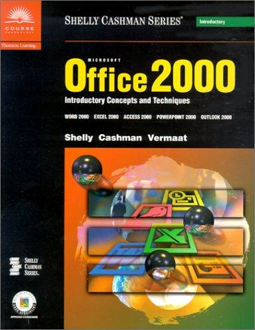 Download Microsoft Office 2000 Introductory Concepts and Techniques