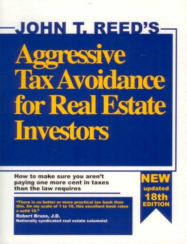 Download Aggressive Tax Avoidance for Real Estate Investors
