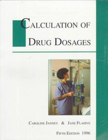 Download Calculation of Drug Dosages