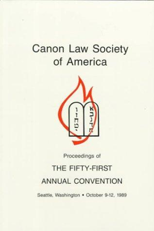 Download Canon Law Society of America