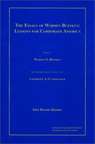 Download The essays of Warren Buffett