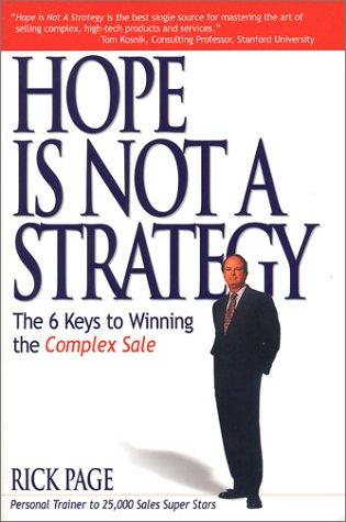 Download Hope Is Not a Strategy