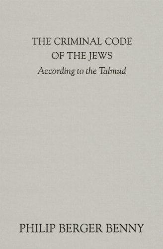 Download The criminal code of the Jews