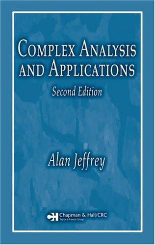 Download Complex analysis and applications