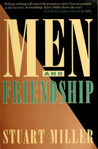 Download Men and friendship
