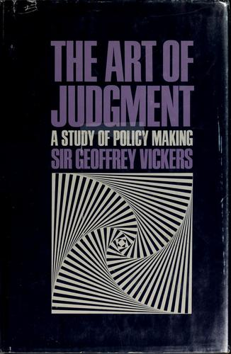 Download The art of judgment