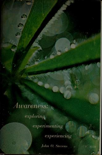 Awareness: exploring, experimenting, experiencing by Steve Andreas