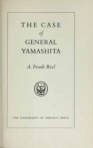 Download The case of General Yamashita