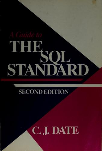 Download A guide to the SQL standard