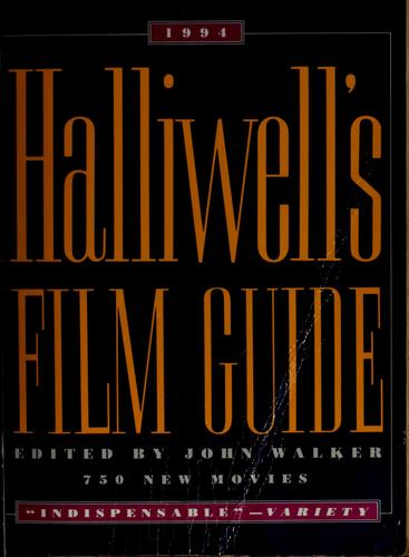 Halliwell's Film Guide, 1994