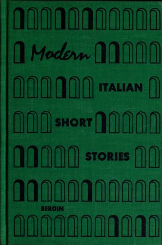 Download Modern Italian short stories.