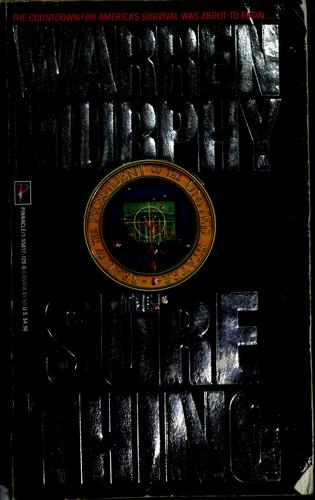 The sure thing by Warren Murphy