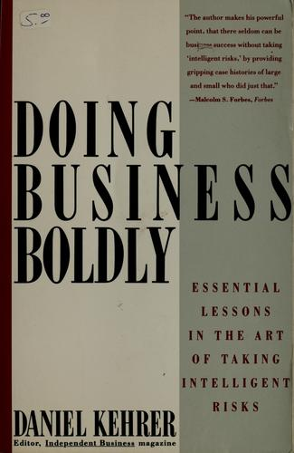 Download Doing business boldly