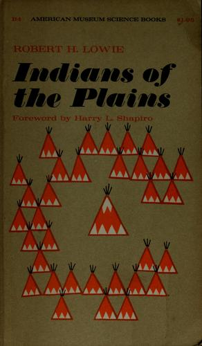 Indians of the Plains.