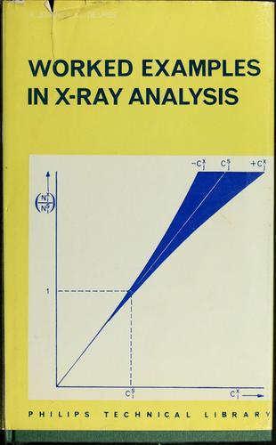 Worked examples in X-ray analysis.