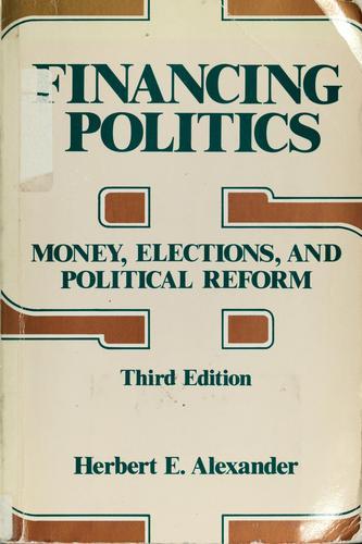 Download Financing politics