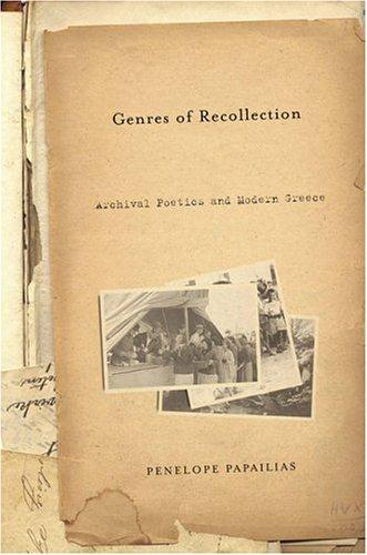 Download Genres of Recollection