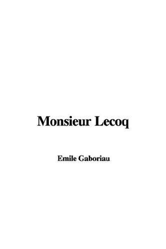 Download Monsieur Lecoq