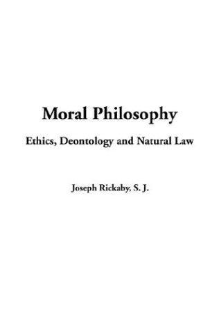 Download Moral Philosophy