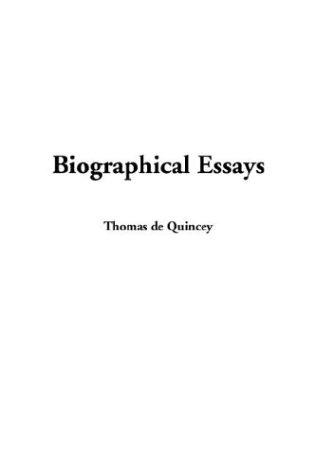 Download Biographical Essays
