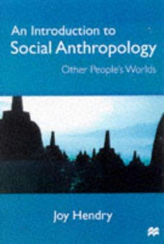 Download An Introduction to Social Anthropology