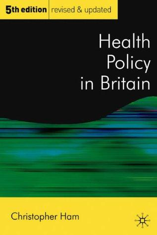 Download Health Policy in Britain
