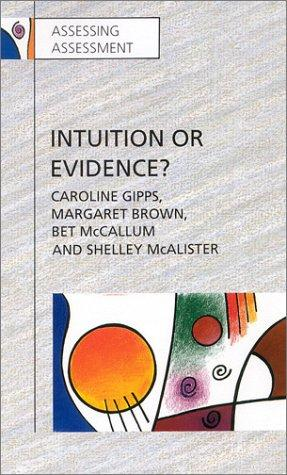 Download Intuition or Evidence?