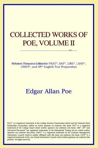 Download Collected Works of Poe, Volume II (Webster's Thesaurus Edition)