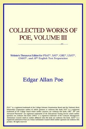 Download Collected Works of Poe, Volume III (Webster's Thesaurus Edition)