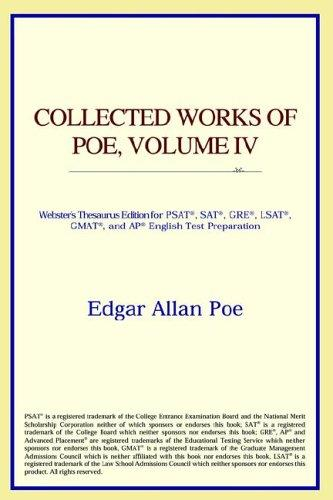 Download Collected Works of Poe, Volume IV (Webster's Thesaurus Edition)