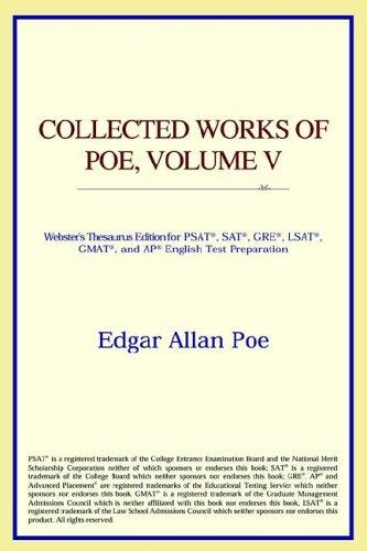 Collected Works of Poe, Volume V (Webster's Thesaurus Edition)