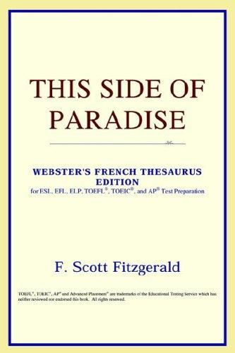 Download This Side of Paradise (Webster's French Thesaurus Edition)