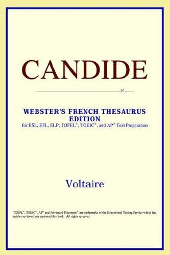 Candide (Webster's French Thesaurus Edition)