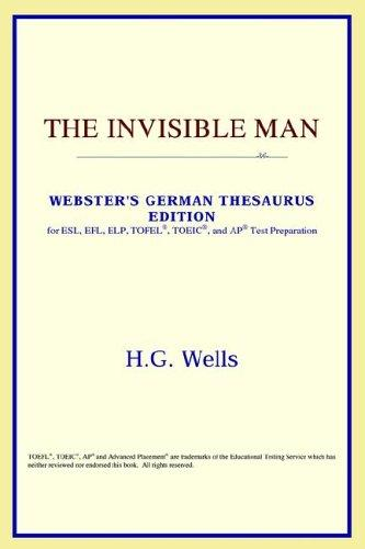 The Invisible Man (Webster's German Thesaurus Edition)
