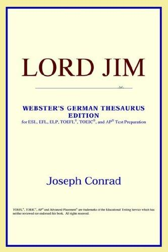 Lord Jim (Webster's German Thesaurus Edition)