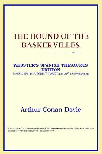 Download The Hound of the Baskervilles (Webster's Spanish Thesaurus Edition)