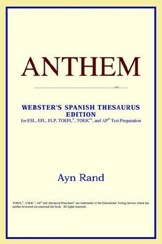 Anthem (Webster's Spanish Thesaurus Edition)