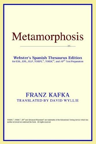 Download Metamorphosis (Webster's Spanish Thesaurus Edition)