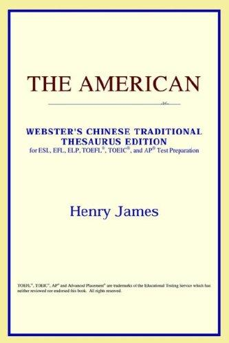 Download The American (Webster's Chinese-Simplified Thesaurus Edition)