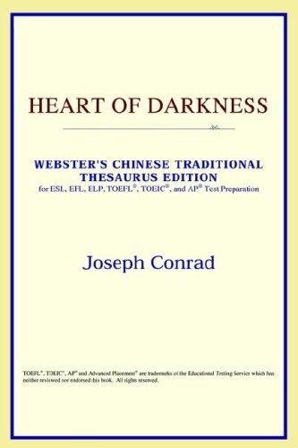 Heart of Darkness (Webster's Chinese-Simplified Thesaurus Edition)